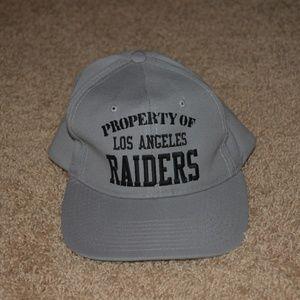 Vintage Los Angeles Raiders NEW ERA snap back hat